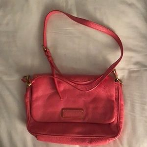 Marc Jacobs Pink Leather Crossbody Bag